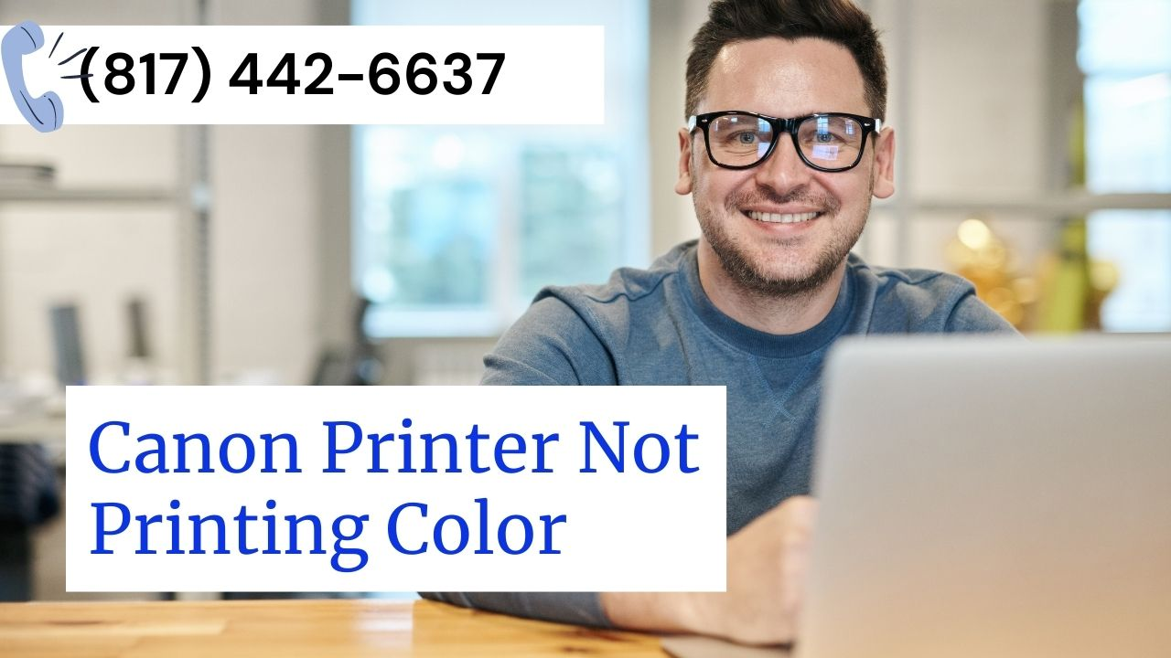 Canon Printer Not Printing Color