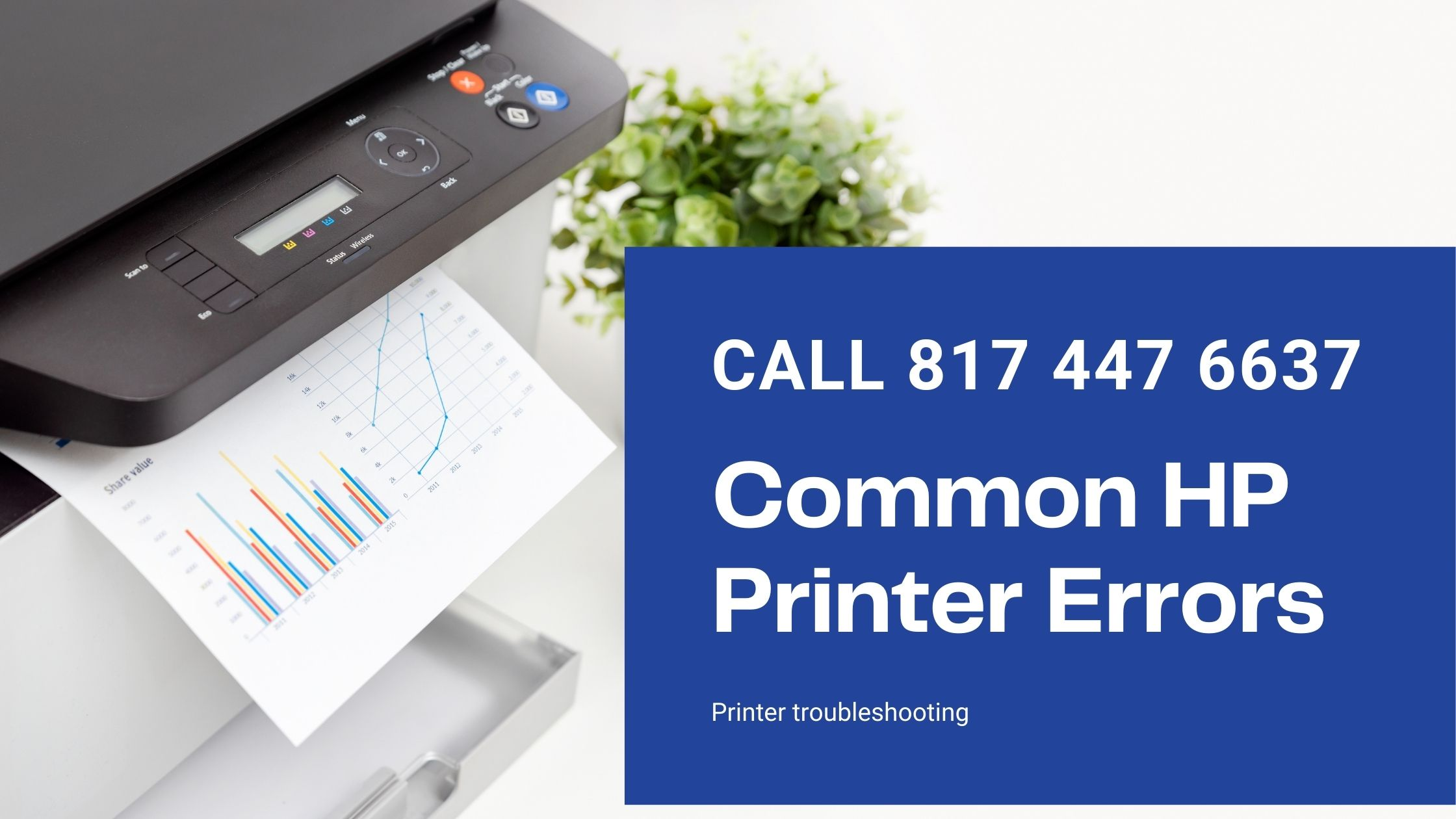 Some common HP printer errors and how to fix them