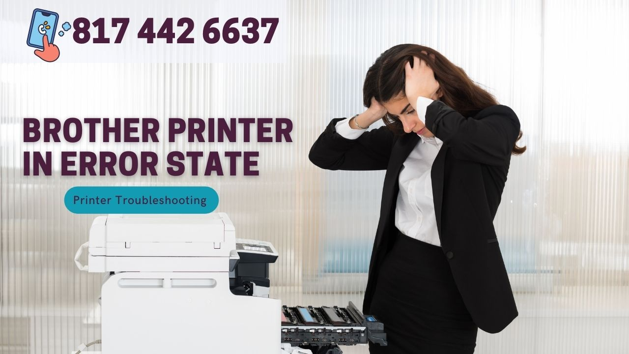 A Quick Way To Resolve Brother Printer In Error State