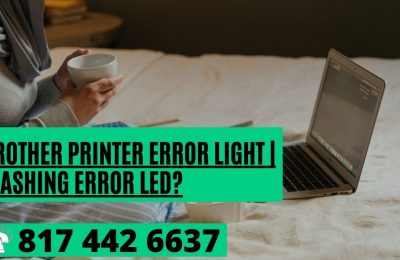 How do I Clear the Brother Printer Error Light | Flashing Error LED?