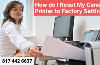How do I reset my canon printer to factory settings?