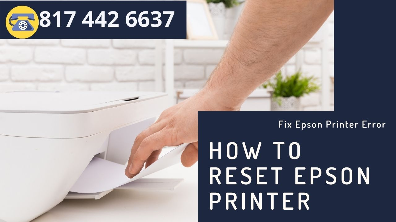 How to reset Epson printer