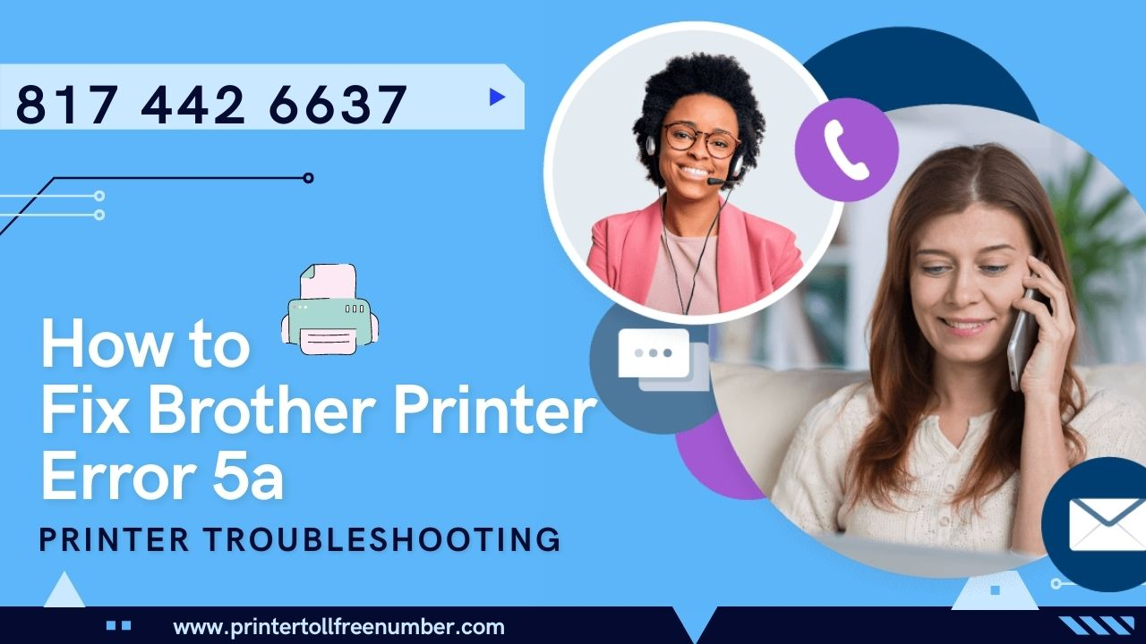 How To Fix Brother Printer Error 5a
